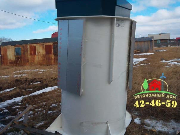 Автономная канализация с Биодека 5